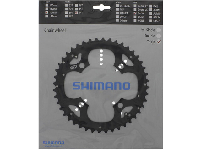 Shimano Deore FC-M530 Chainring for KSR 9-speed black